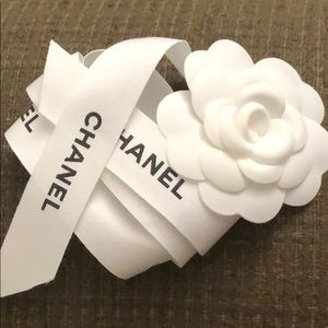 Chanel Camellia and Ribbon